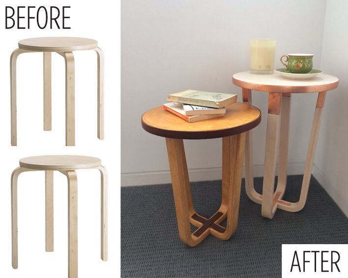 Ikea Frosta Stool Ikea Frosta Stool As Side Table - Clever Ikea Hack | Ikea