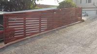modern horizontal wooden fence panels - Google Search ...