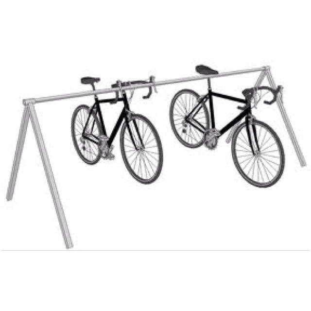 Triathlon Style Bike Rack Bike Parking Pinterest