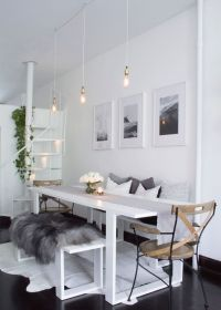 WILLIAMSBURG, BROOKLYN | Apartment dining rooms, Apartment ...