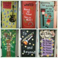 MCT2 Test door deco at school. 2012 | Classroom doors n ...