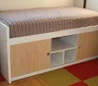 $200 Used Ikea Bangsund Elevated Twin Bed with Storage ...