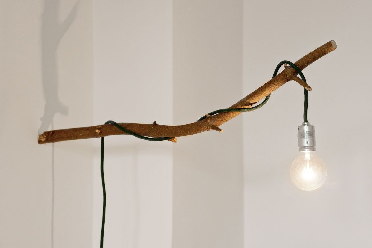 Do It Yourself Lampen Diy Lampe Mit Ast