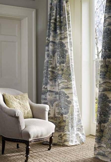 Love these curtainsClassic English country Style - pastoral - country curtains for living room