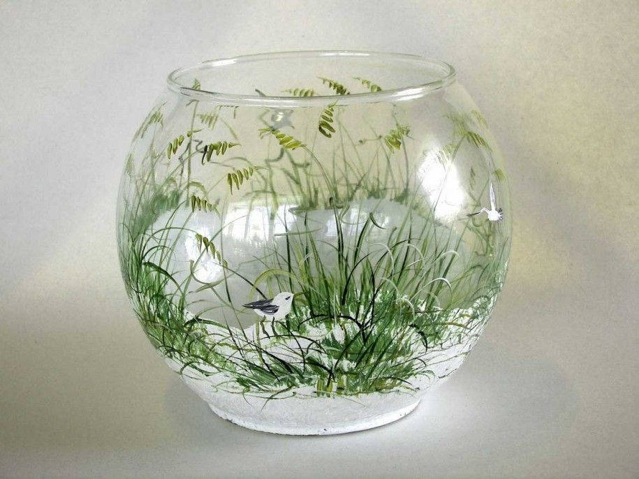 1000+ Images About Glass Painting Ideas On Pinterest | Painted