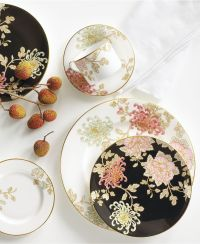 Marchesa by Lenox Dinnerware, Painted Camellia Collection ...
