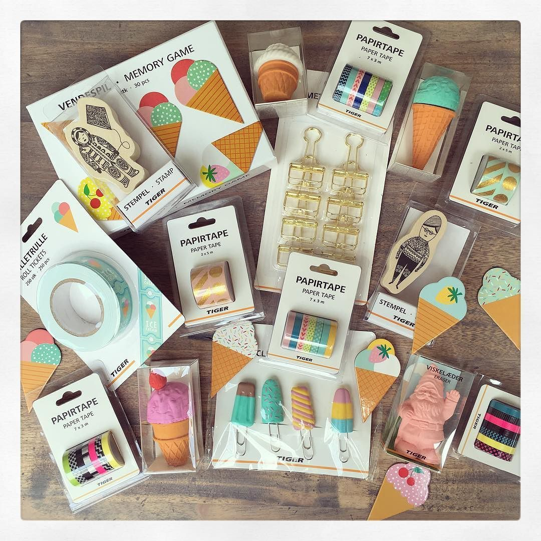 Flying Tiger Shop Shopping Haul From Flying Tiger Love The Ice Cream Erasers