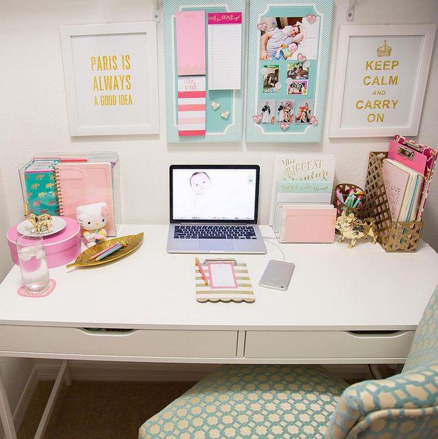 Desk Decor Google Search Study Workspace Pinterest