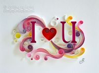 quilling, quilling art, paper, Love , paper art, design ...