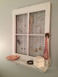 old window frames decorating ideas | window frame wall ...