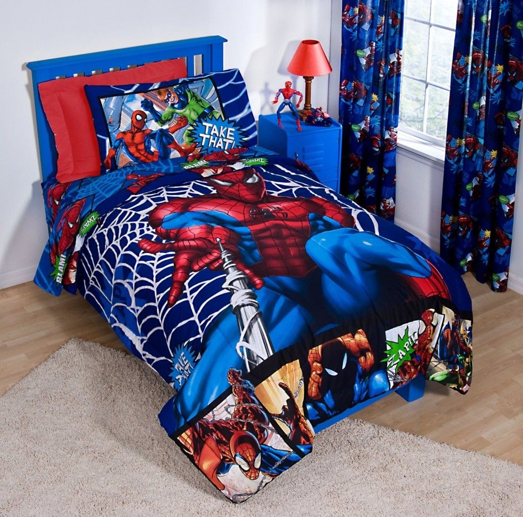 Spiderman bedroom for kid home design hairstyle