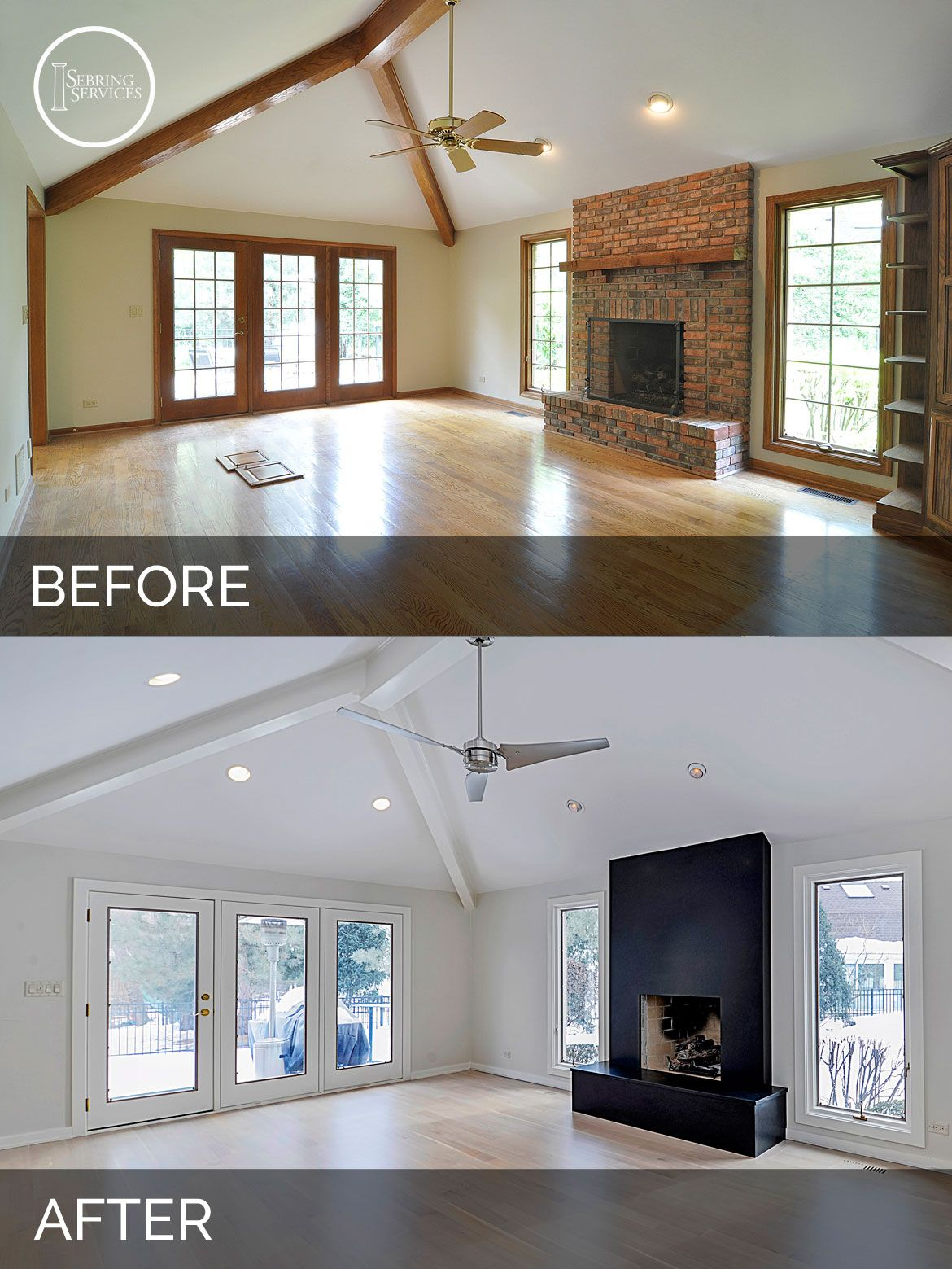 Renovated Farmhouse Before And After Jeff And Betsy 39s Kitchen Before And After Pictures Kitchens