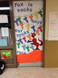 My Dr. Seuss door decoration for read across America week