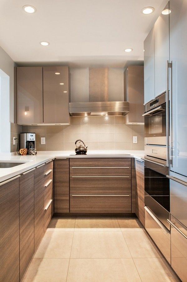 19 Practical U-Shaped Kitchen Designs for Small Spaces Narrow - kitchen designs for small spaces