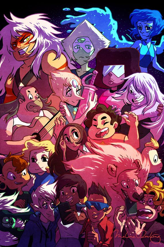 Ludo Quotes Wallpaper Steven Universe Characters Crystal Gems Cartoon Anime