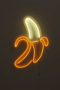 Banana Neon Sign | Neon, Bedrooms and Lights