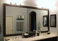 DIY Bathroom mirror frame | Bathroom ideas | Pinterest ...