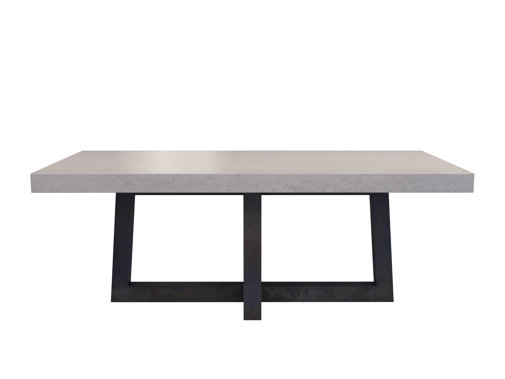 custom concrete kitchen dining tables trueform con concrete kitchen table Torre Rectangle Concrete Dining Table by Trueform Concrete TrueformConcrete OurTables
