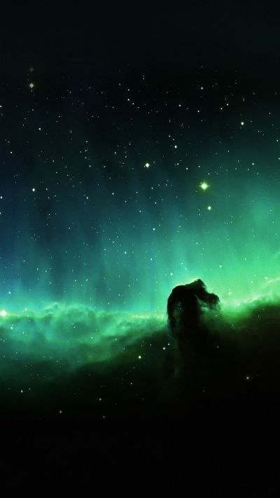 Horse Head Blue Nebula Sky Space Stars #iPhone #7 #wallpaper | iPhone 8 wallpapers | Pinterest ...