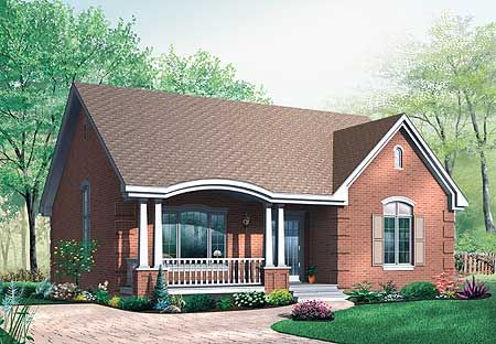 Small Brick Hous Plans - Google Search | House Ideas | Pinterest