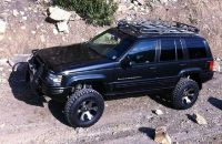 WJ Grand Cherokee Roof Rack Platform System Roof Rack ...