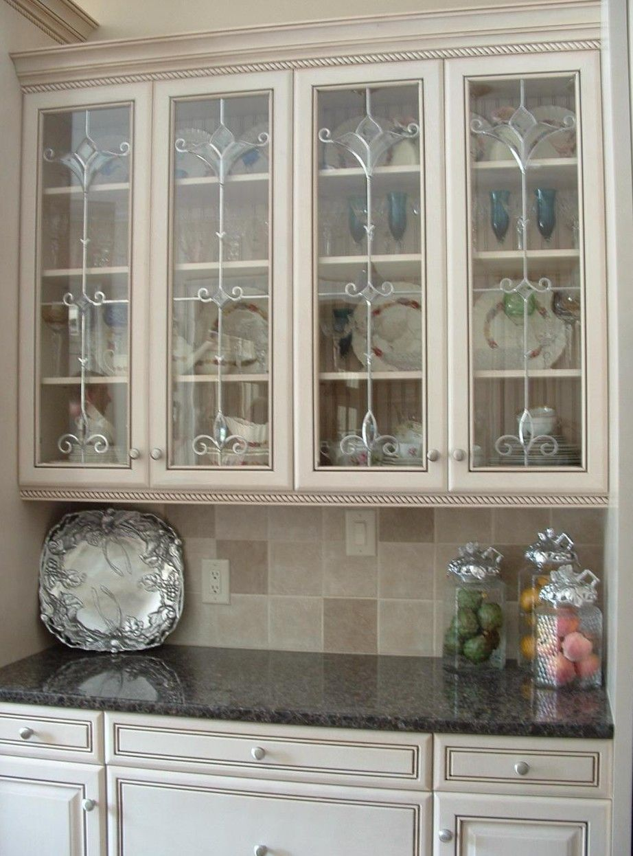 Types of glass inserts for kitchen cabinets yahoo image search results