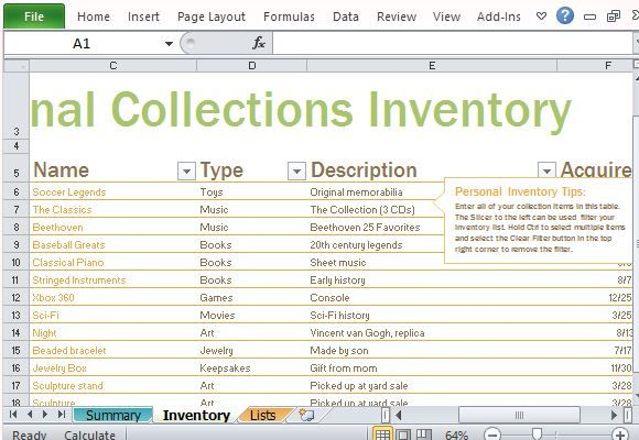 Jewelry Inventory Spreadsheet Template Personal Inventory Log - property inventory template