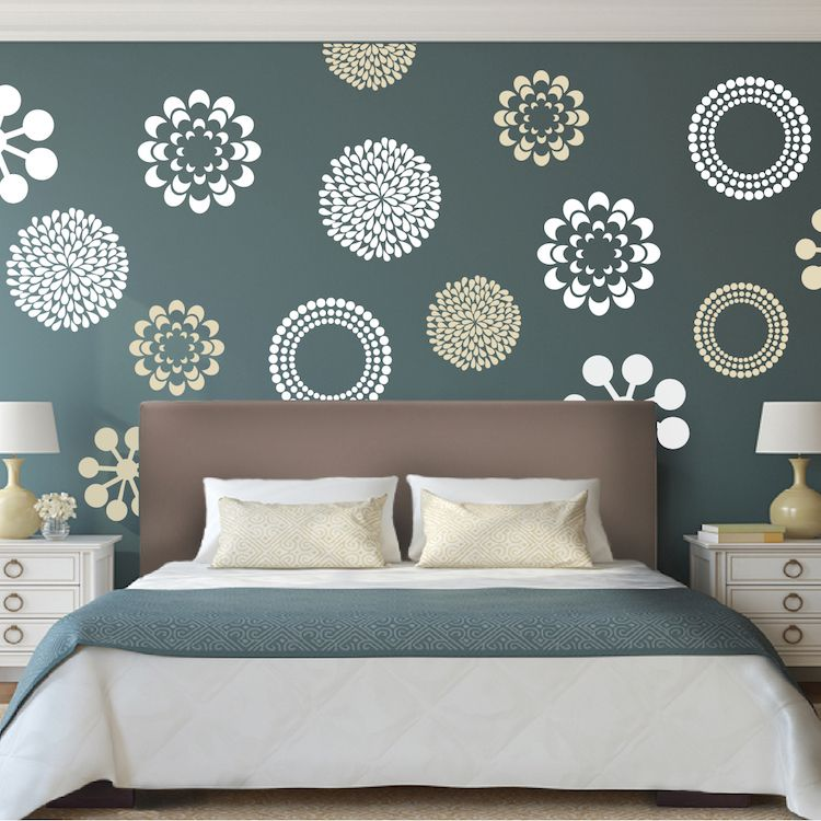 Prettifying Wall Decals Wall decals, Walls and Bedrooms - designs for walls
