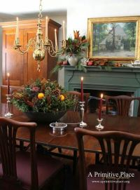 FARMHOUSE  INTERIOR  vintage early american decor is ...