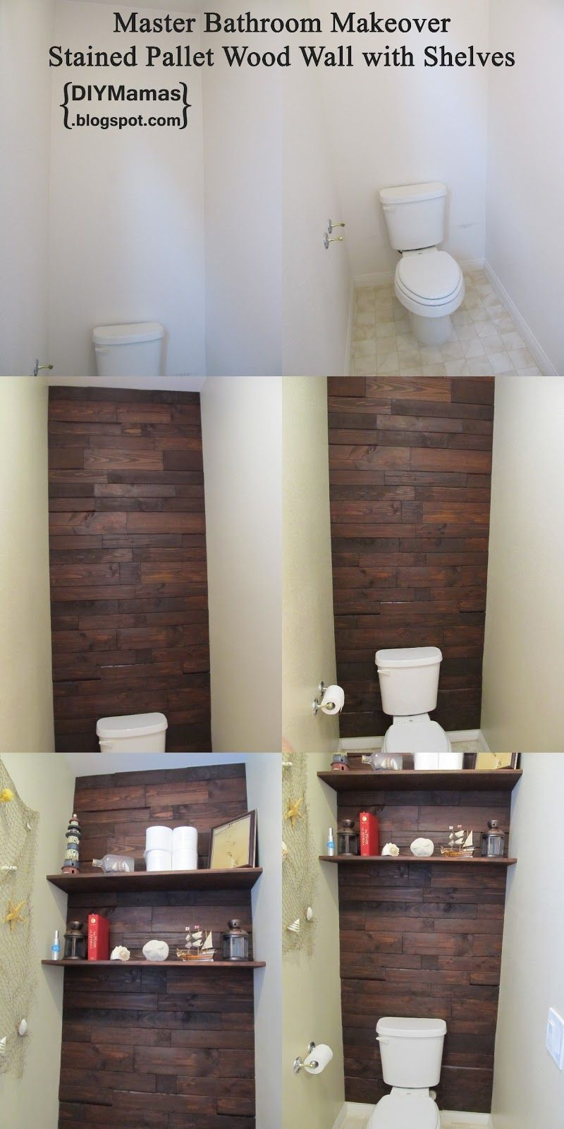 Pallet Wall Bathroom Pallet Wood Bathroom