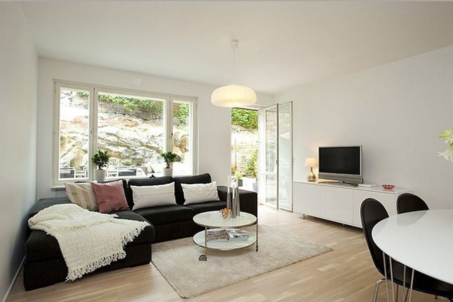 window ideas for living room Large windows in living room add a - living room windows