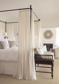 Best 25+ Canopy bed drapes ideas on Pinterest | Bed ...