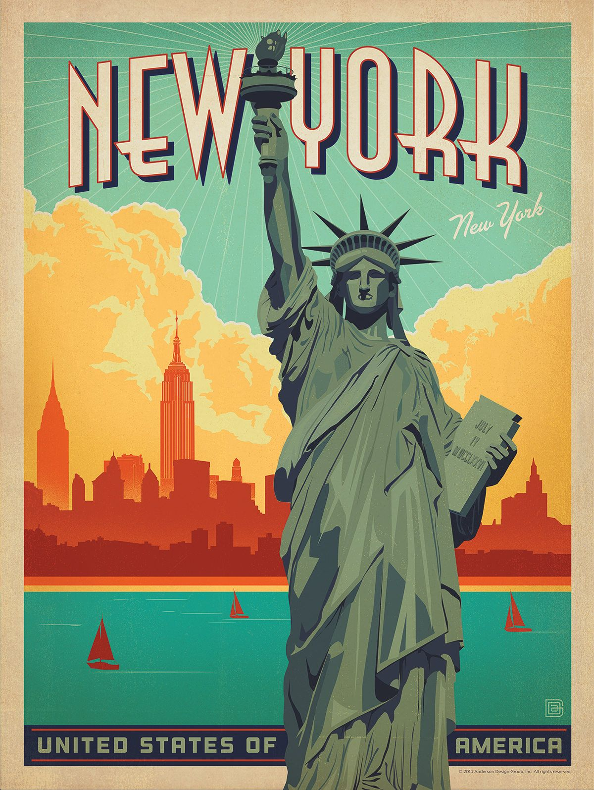 Poster Werbung New York Vintage Poster Google Search Reisen