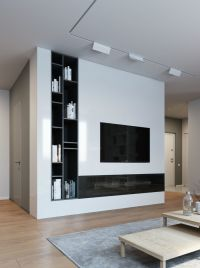 Elegant, Contemporary, and Creative TV Wall Design Ideas ...