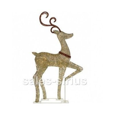 Outdoor Christmas Reindeer Decorations Lighted Indoor Light Up - indoor christmas reindeer decorations
