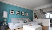 ocean blue walls living room - Google Search | interior ...