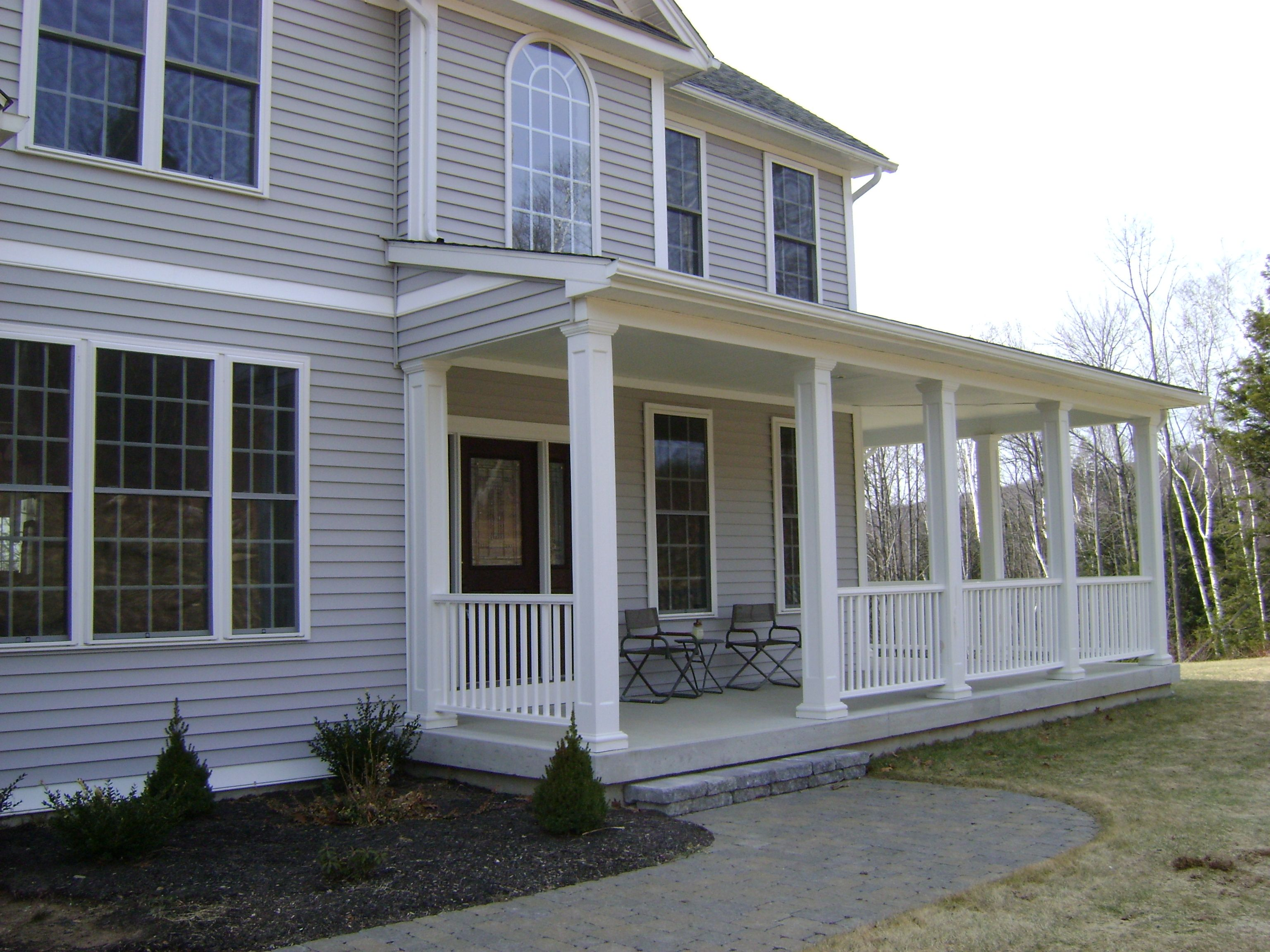 Farmhouse Front Porch Railing Ideas Front Porch Jpg Like This But Scaled To My House