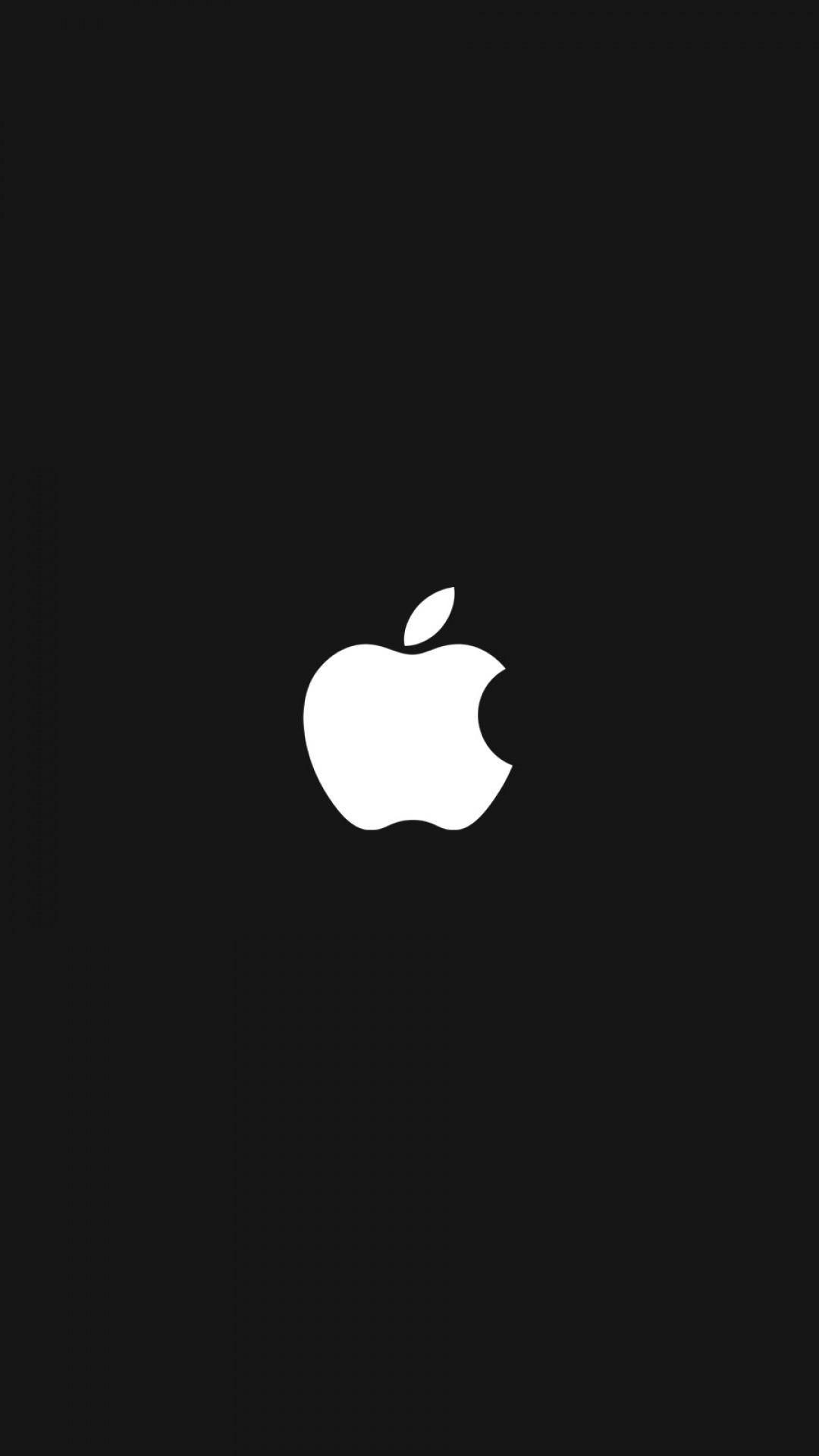 B w quenalbertini apple logo iphone wallpaper