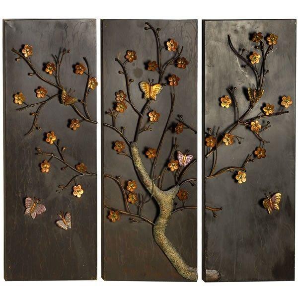 Butterfly panel metal wall art Metal wall art, Metal walls and Walls - artistic wall design