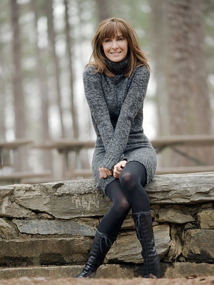 Sweater Dress With Tights Google Search My Style