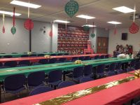 Office Christmas party decorations | Holidays | Pinterest ...