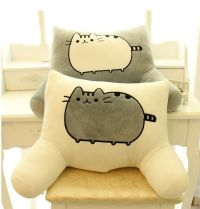 Pusheen Cat big pillow cushion biscuits cat plush toy doll ...