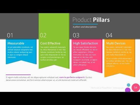 Vega - Free PowerPoint Template - YouTube Präsentation - powerpoint flyer template