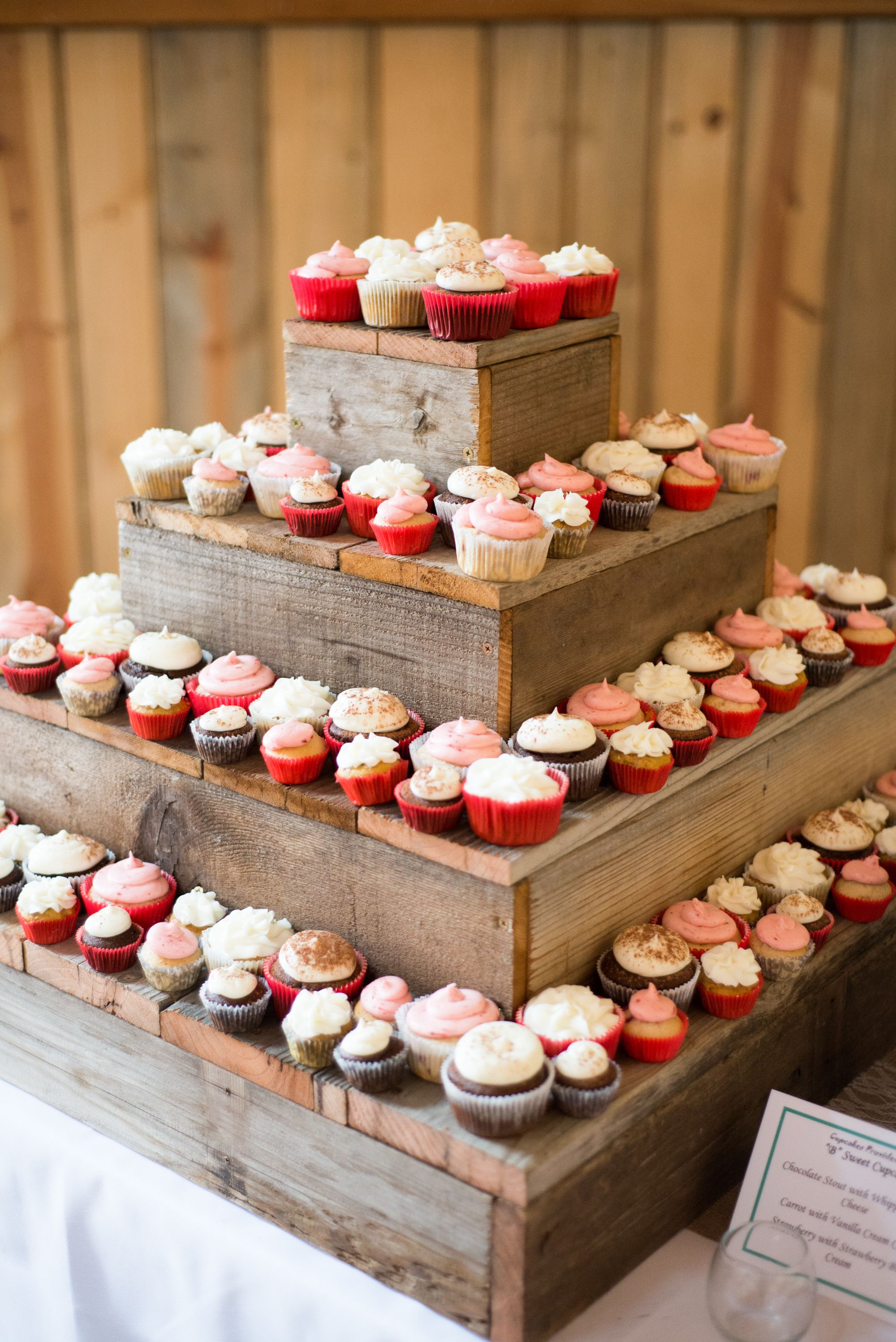 Diy Backdrop Stand For Dessert Table Diy Barn Wood Cupcake Stand Dessert Table Cakes And Such
