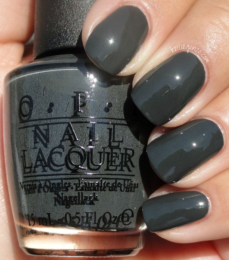 Looking For A Grey Nail Polish Opi Nein Nein Nein Ok