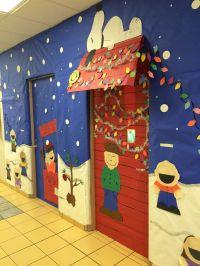 Christmas Door Decorations For Work