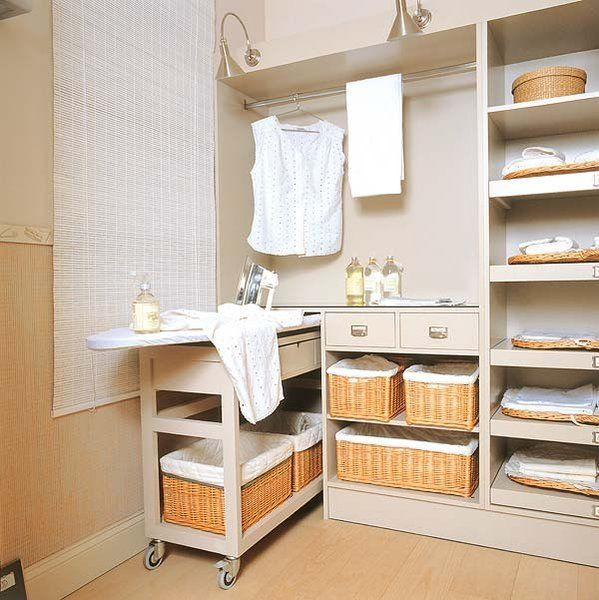 Muebles De Planchar Crea Una Zona De Plancha | Laundry, Laundry Rooms And Room