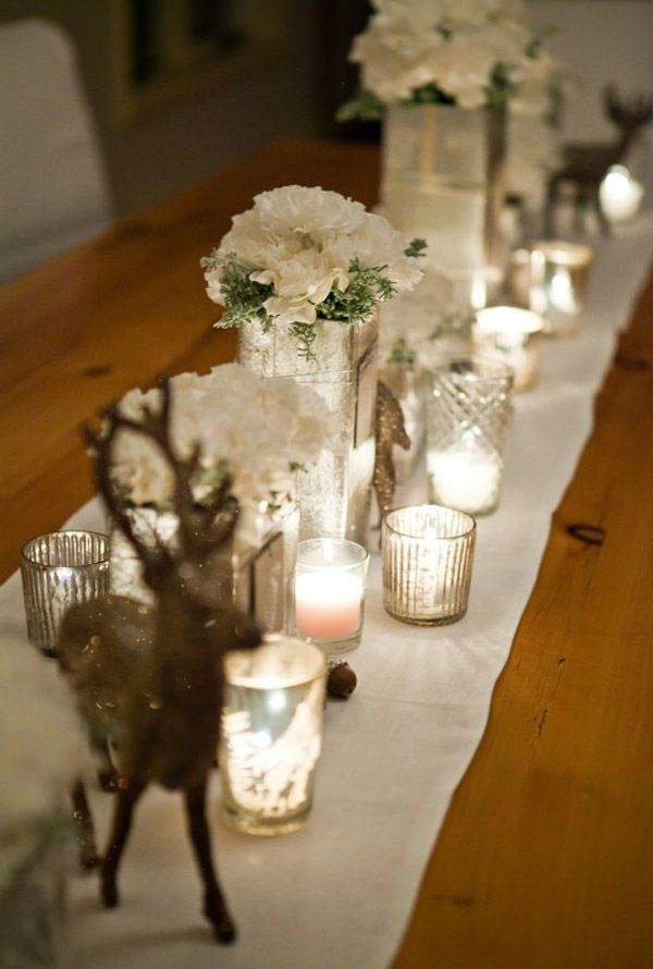 50 Fabulous Christmas Table Decorations on Pinterest Beautiful - christmas table decorations pinterest