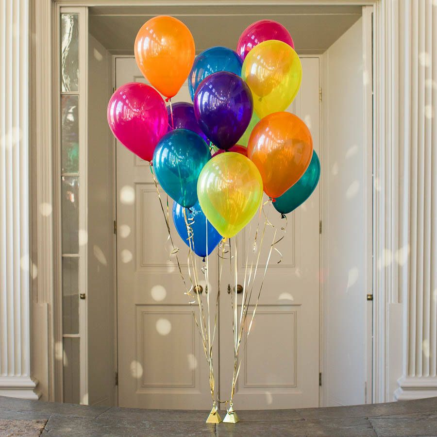 Birthday Balloons Jewel Osco Pack Of 14 Jewel Rainbow Party Balloons | Party Wedding