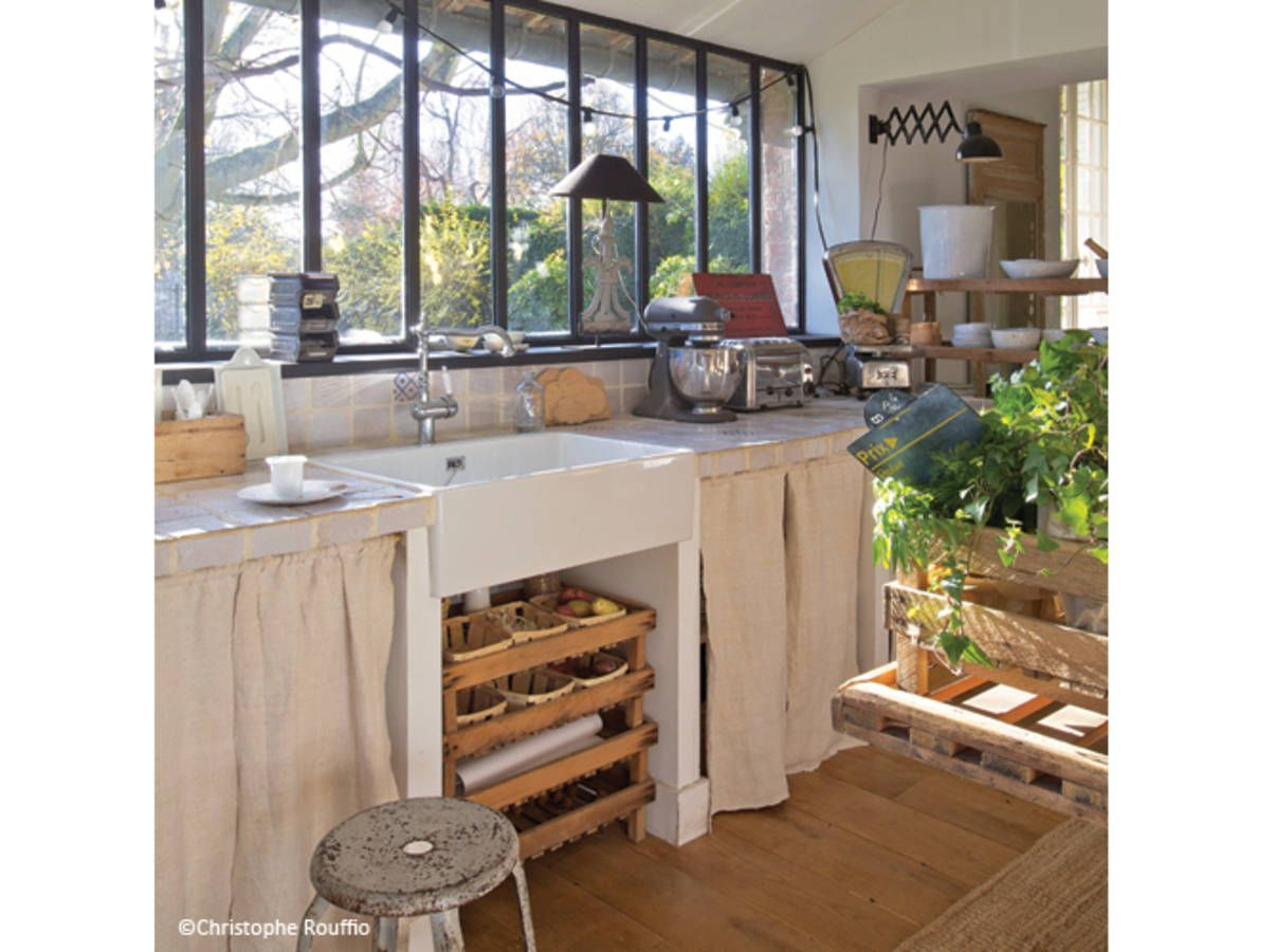 Deco Campagne Chic Cuisine Deco Cuisine Campagne Chic